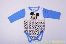 Disney Mickey Bébi Hosszú Ujjú Body (Telimintás)