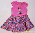 Disney Minnie Nyári Ruha (Virágmintás)(Fehér, Pink)