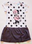 Disney Minnie Rövid Ujjú Ruha (98cm, 2 év, Fehér) UTOLSÓ DARAB