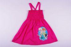 Disney Jégvarázs Nyári Ruha (122cm, 128cm, 134cm Rózsaszín) UTOLSÓ DARABOK
