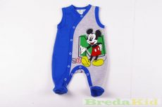 Disney Mickey Bébi Ujjatlan Bolyhos Rugdalozó (50cm, 62cm) UTOLSÓ DARABOK