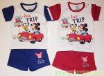 Disney Mickey (Plutó) Együttes (Fehér/Kék, Fehér/Piros)