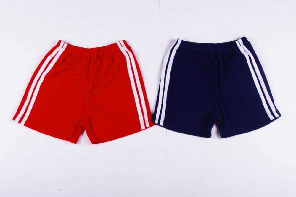 BredaKid Unisex Gymnastics Short (White Strips On Side) - BredaKid ... b60fdd300d