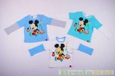 Disney Mickey Bébi Hosszú Ujjú Póló (ABC)