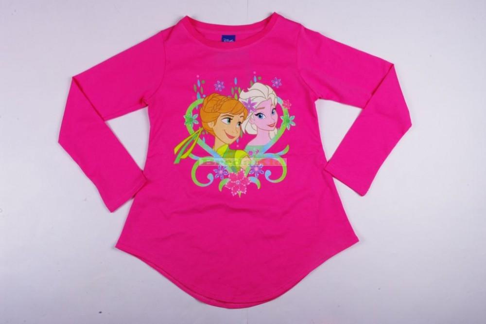 Disney Jégvarázs Hosszú Ujjú Póló (Hátul hosszabb)(Rózsaszín ... 96034ad359