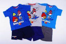 Angry Birds Rövid Pizsama / Együttes (116cm, 122cm) UTOLSÓ DARABOK