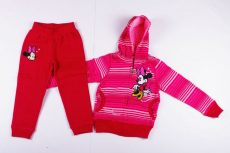 Disney Minnie Csíkos Bolyhos Szabadidő (134cm, 8 év, Pink) UTOLSÓ DARAB