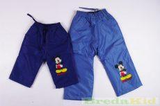 Disney Mickey Bébi Vízlepergetős Bélelt Nadrág (80cm, 86cm, 92cm) UTOLSÓ DARABOK