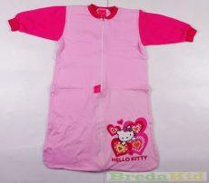 Hello Kitty Bébi Egybe Vékony Hálózsák (68/74cm, 6/9 hó, Rózsaszín) UTOLSÓ DARAB