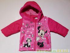 Disney Minnie Bébi Vízlepergetős Téli Kabát (Csillagos)(74cm, 80cm) UTOLSÓ DARABOK