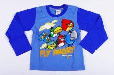 Angry Birds Hosszú Ujjú Póló (98cm, 2 év, Kék) UTOLSÓ DARAB
