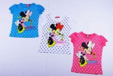 Disney Minnie Rövid Ujjú Pöttyös Póló