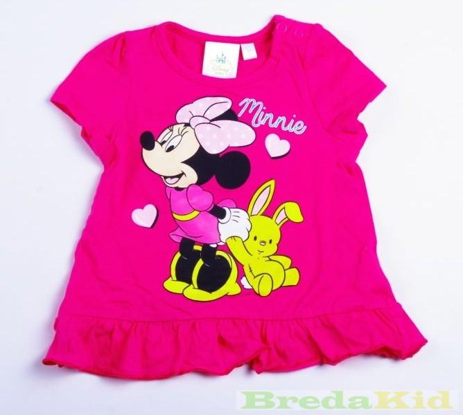 Disney Minnie Bébi Rövid Ujjú Póló (Alul Fodros)(68 74cm 7d9796e7be