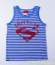 Superman Csíkos Trikó (Kék, Szürke, Sárga)