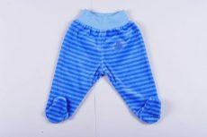 Fiú Bébi Plüss Talpas nadrág (Macis)(68cm, 6 hó, Kék) UTOLSÓ DARAB