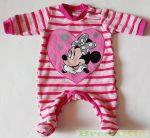 Disney Minnie Bébi Plüss Egybe Rugdalozó (Szívecskés)(Csíkos, Pöttyös)