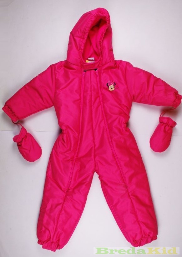 286d8cb969 Disney Minnie Bébi Téli Átalakítható Overál (56/62cm, 0/6 hó, Pink) UTOLSÓ  DARAB