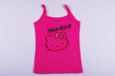 Hello Kitty Pöttyös Trikó (140cm, 9 év, Rózsaszín) UTOLSÓ DARAB