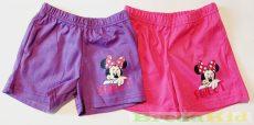 Disney Minnie Pamut Rövidnadrág (Sweet)(Lila, Pink, Rózsaszín)