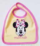Disney Minnie Bébi Tépőzáras Előke (Sárga/Rózsaszin) UTOLSÓ DARAB