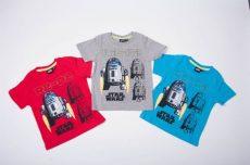 Star Wars Rövid Ujjú Póló (R2D2)(98/104cm, 2/3 év) UTOLSÓ DARABOK