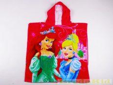 Disney Hercegnő Poncsó (2-7 éves korig)(60X120cm)(Pink) UTOLSÓ DARAB