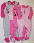 Disney Minnie Vékony Overál Pizsama / Talpas Egybe Rugdalózó (Csillagos)(Szürke, Pink, Rózsaszín)