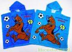 Scooby Doo Poncsó (2-7 éves korig)(60X120cm)
