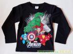 Avengers (Bosszúállók) Hosszú Ujjú Póló (Fekete)
