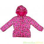 Disney Minnie Vízlepergetős Kapucnis Átmeneti/Téli Kabát (Pink, Piros Telimintás)