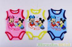 Disney Mickey és Minnie Bébi Ujjatlan Body