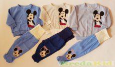 Disney Mickey Bébi Vékony Talpas Szabadidő (62cm, 68cm, 74cm) UTOLSÓ DARABOK