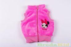 Disney Minnie Bébi Wellsoft Mellény (Rózsaszín)(62cm, 68cm, 74cm, 80cm) UTOLSÓ DARABOK
