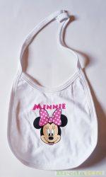 Disney Minnie Bébi Kőtős Előke (Fehér) UTOLSÓ DARAB