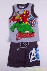 Avengers (Bosszúállók) Trikós Együttes (134cm, 8 év, Szürke) UTOLSÓ DARAB