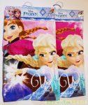 Disney Jégvarázs Poncsó (2-7 éves korig)(55X110cm)(Rózsaszín, Pink) UTOLSÓ DARABOK