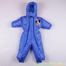 Disney Mickey Bébi Téli Átalakítható Overál (56/62cm, 0/6 hó, Kék) UTOLSÓ DARAB