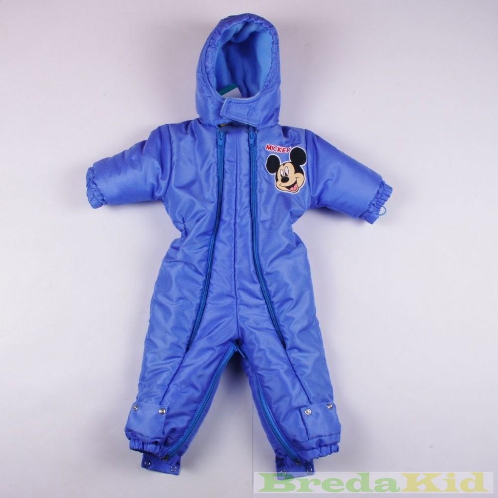 933f446611 Disney Mickey Téli Átalakítható Overál (Kék, Drapp)(56/62cm, 92/98cm ...