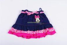 Disney Minnie Bébi Csipkés Hatású Farmer Szoknya (86cm, 1-1,5 év, Rózsaszín) UTOLSÓ DARAB