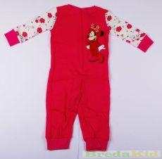 Disney Minnie Bébi Overál Pizsama (80cm, 1 év, Pink) UTOLSÓ DARAB