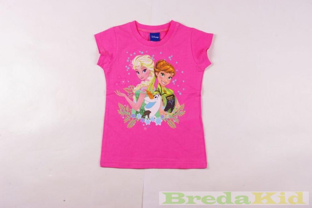 3538560843 Disney Jégvarázs Rövid Ujjú Póló (Pink, Rózsaszín) - BredaKid ...