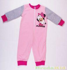 Disney Minnie Bébi Bolyhos Overál Pizsama (80cm, 92cm) UTOLSÓ DARABOK