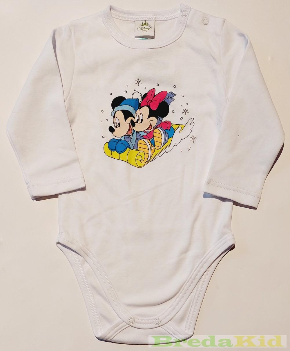 Disney Minnie és Mickey Bébi Hosszú Ujjú Body (Szánkózós)(Pink ... 4f11715cb2