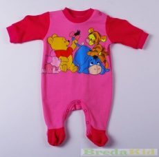 Disney Micimackó Lány Bébi Egybe Rugdalózó (50cm, Rózsaszín) UTOLSÓ DARAB