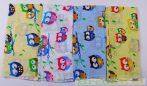 Mintás Textilpelenka (Baglyos)(Sárga/kék, rózsaszín) UTOLSÓ DARABOK