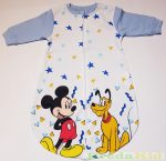 Disney Mickey (Plutó) Bébi Vékony  Egybe Hálózsák (Csillagos)(Sárga, Világoskék, Középkék)