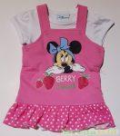Disney Minnie Bébi 2 Részes Kisruha Bodyval Szett (Berry Sweet)