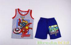Avengers (Bosszúállók) Trikós Együttes (Szürke-Kék)(104cm, 116cm) UTOLSÓ DARABOK