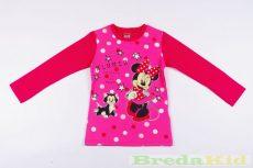 Disney Minnie Bébi Hosszú Ujjú Póló (Csillagos)(74cm, 80cm, 86cm) UTOLSÓ DARABOK