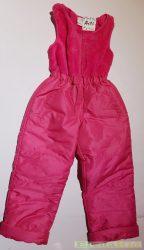Lány Téli Vízlepergetős Ujjatlan Síoverál (Pink)
